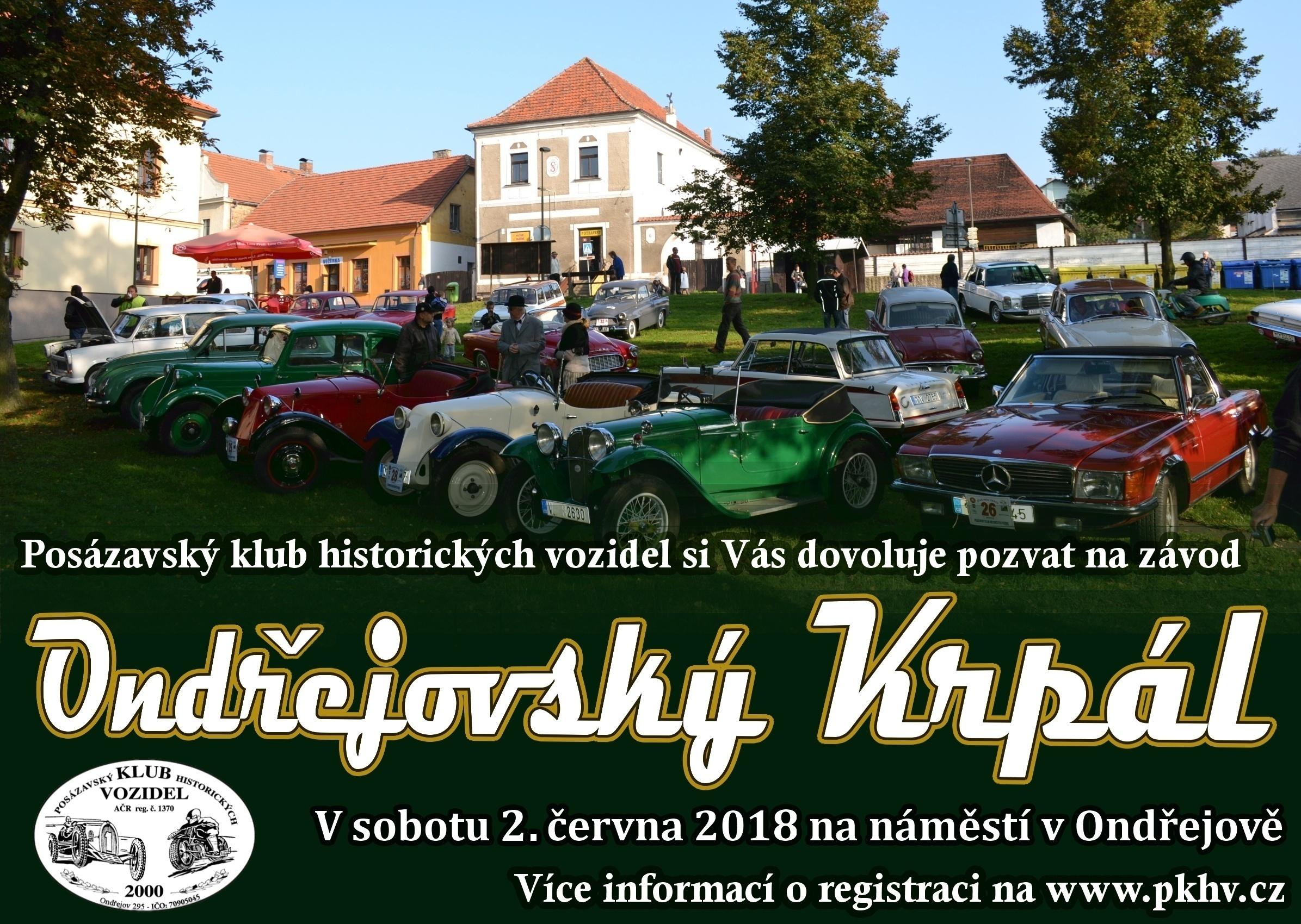 Ondřejovský krpál 2018